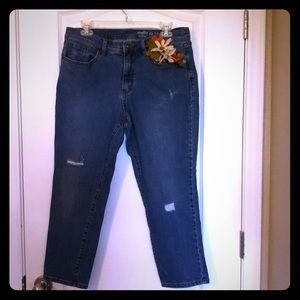 Studio by D & Co Distressed Jeans 12P